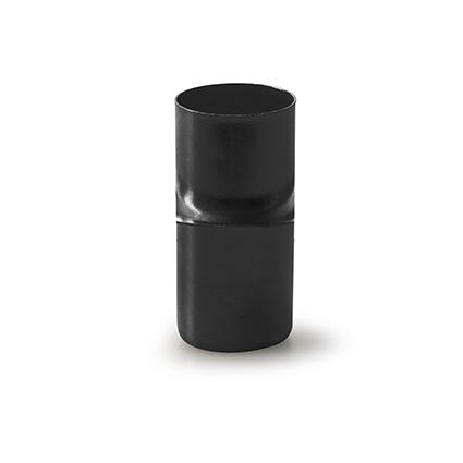 Metalen kaarshouden zwart h4 d2,4/1,8 cm