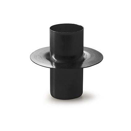 Metalen kaarshouden zwart h5 d5 cm