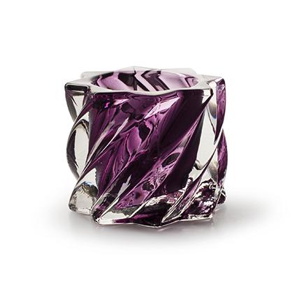 TLH 'quinty' purple h5,5 d7,5 cm