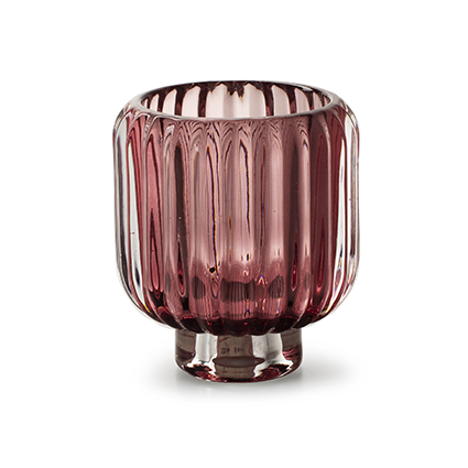 Kaarshouder 'pop' roze h10 d9 cm