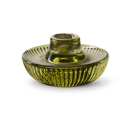 Kaarshouder 'yup' groen h5,5 d10 cm