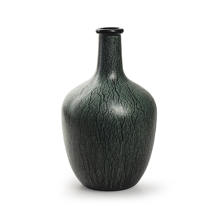 Flesvaas 'sofia' groen h26 d16 cm