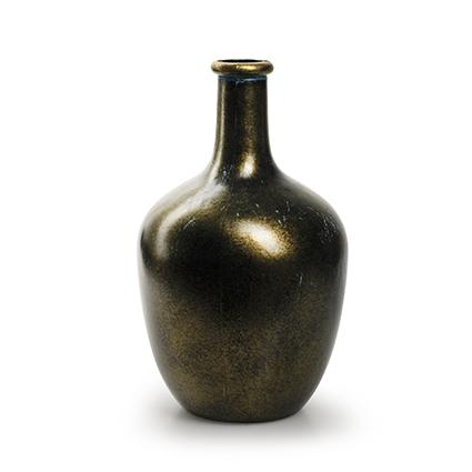 Flesvaas 'sofia' goud h26 d16 cm