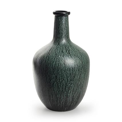 Flesvaas 'sofia' groen h30 d18 cm