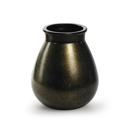 Vaas 'aliya' goud h17 d14 cm