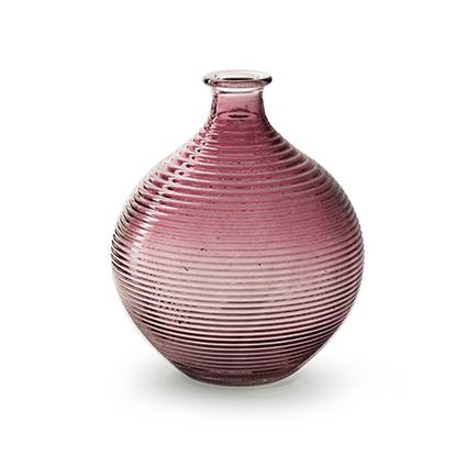 Flesvaas 'ellen' roze h20 d16,5 cm