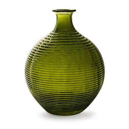 Flesvaas 'ellen' groen h29,5 d23 cm