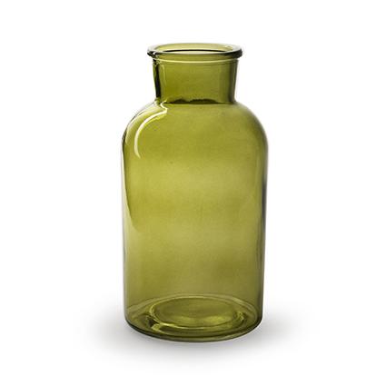 Vaas 'braxton' groen h20 d10 cm