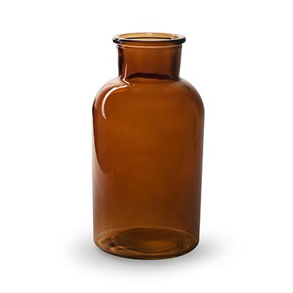 Vaas 'braxton' bruin h20 d10 cm