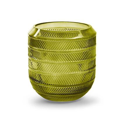 Vaas 'bick' S groen h15 d16 cm