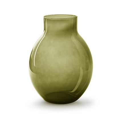 Vaas 'lola' groen h25 d19 cm