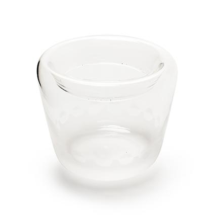 Con. vase 'ceylon' decor h13,5