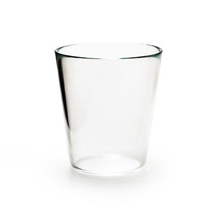 Conical vase h15 d14 cm