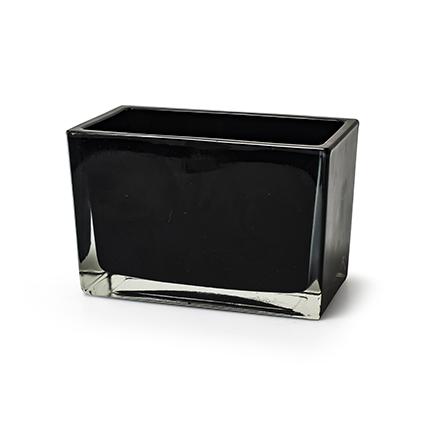 Accubak zwart h10 d14,5x7,5cm
