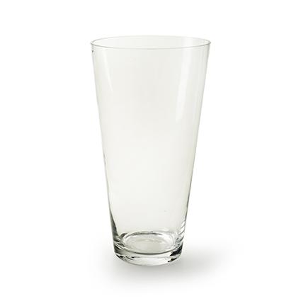 Conical vase h35 d11,5/18,5 cm