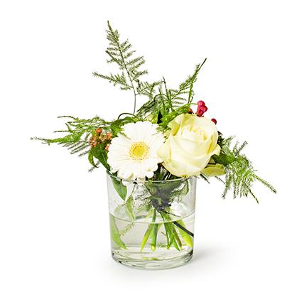 Conical vase 'monaco' h10 d10 cm