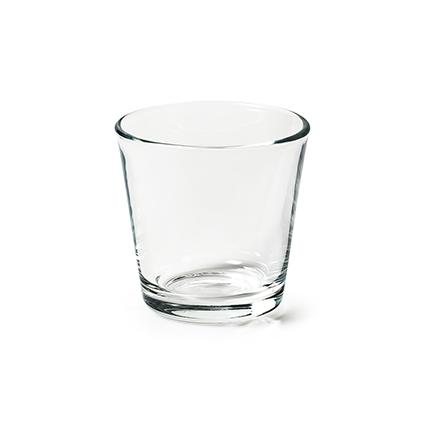 Conical vase 'matteo' h7 d 7.5 cm