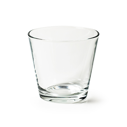 Conical vase 'matteo' h11 d12 cm