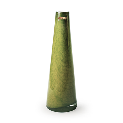Zzing vase 'long' green h25 cm