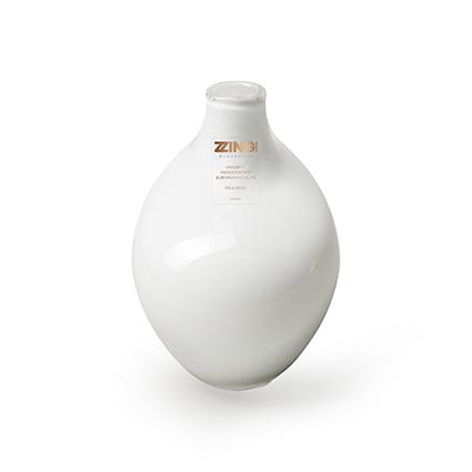 Zzing vase white h15 d8 cm