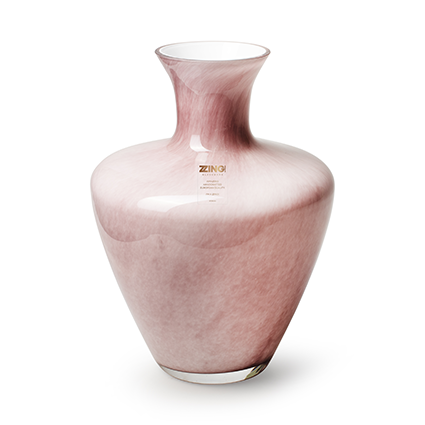 Zzing vase 'dainty' old pink h28 d19 cm
