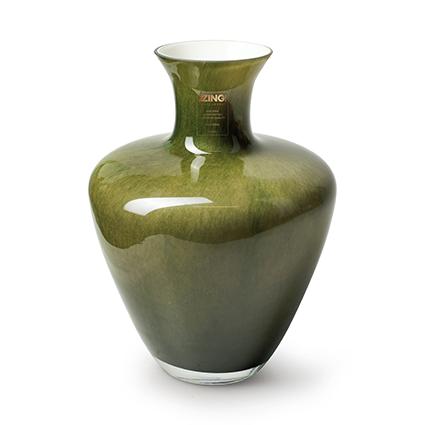 Zzing vase 'dainty' green h28 d19 cm