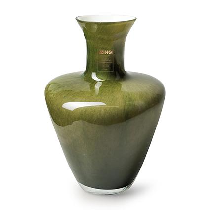 Zzing vase 'dainty' green h35 d24 cm