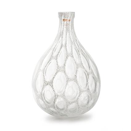Zzing vase 'mylene' white h41 d28 cm