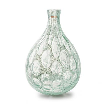 Zzing vase 'mylene' green h41 d28 cm