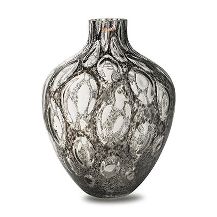 Zzing vase 'mylene' dark grey h40 d30