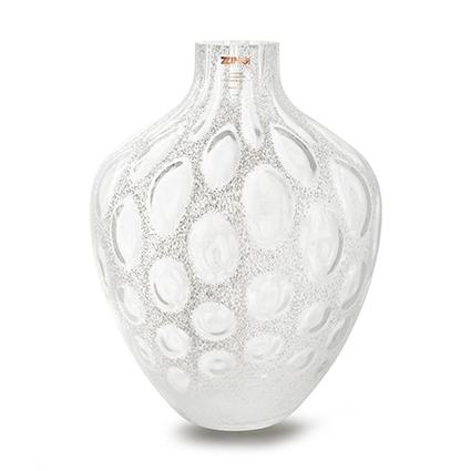 Zzing vase 'mylene' white h40 d30 cm