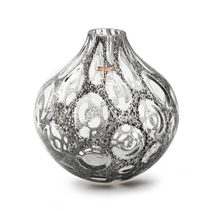 Zzing vase 'mylene' dark grey h25 d25