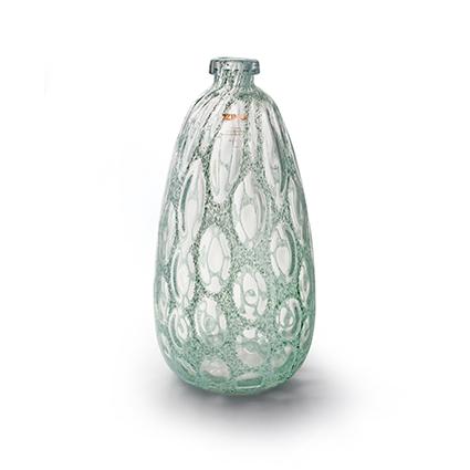 Zzing vase 'merve' green h41 d20 cm