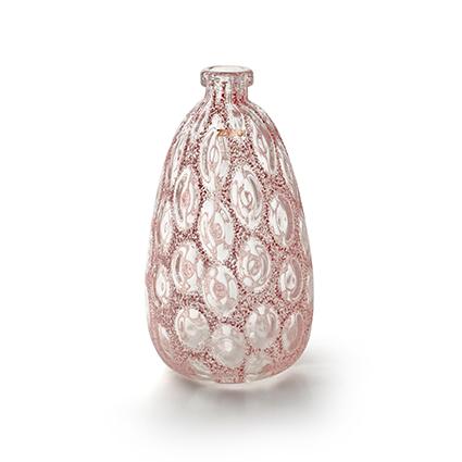 Zzing vaas 'merve' roze h34 d18 cm