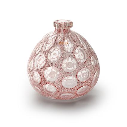 Zzing vaas 'merve' roze h25 d23 cm