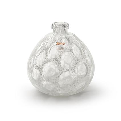 Zzing vase 'merve' white h25 d23 cm