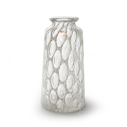 Zzing vase 'malou' white h39 d20 cm