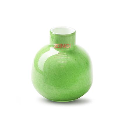 Zzing vaas 'jippy' groen h11 d10 cm
