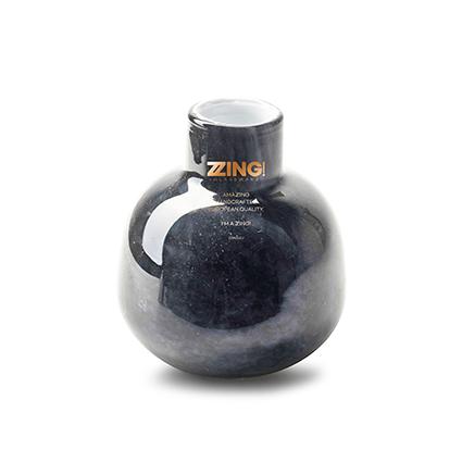 Zzing vaas 'jippy' grijs h11 d10 cm