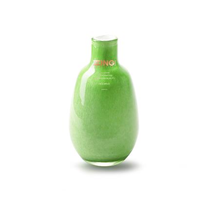 Zzing vaas 'janny' groen h14 d8 cm