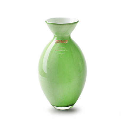 Zzing vase 'jimmy' green h25 d16 cm