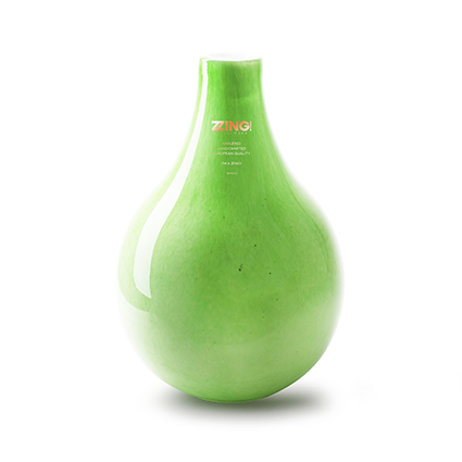 Zzing vase 'jeanny' green h28 d19 cm