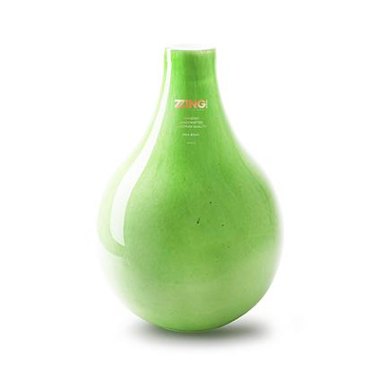 Zzing vaas 'jeanny' groen h28 d19 cm