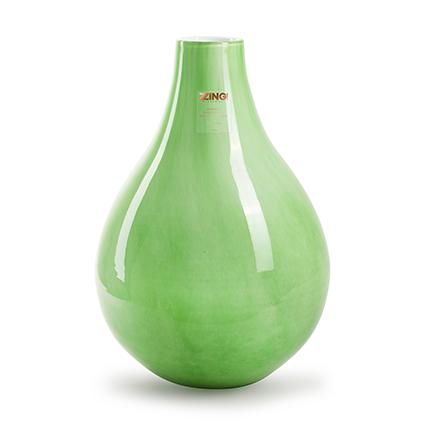 Zzing vaas 'jeanny' groen h35 d24 cm