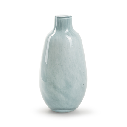 Zzing vase 'jolly' blue/grey h18 d9 cm