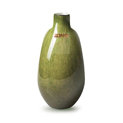 Zzing vase 'jolly' moss green h18 d9 cm