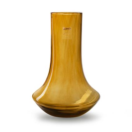 Zzing vaas 'tony' amber h38 d23 cm