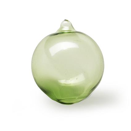 Floating glassball green d4 cm